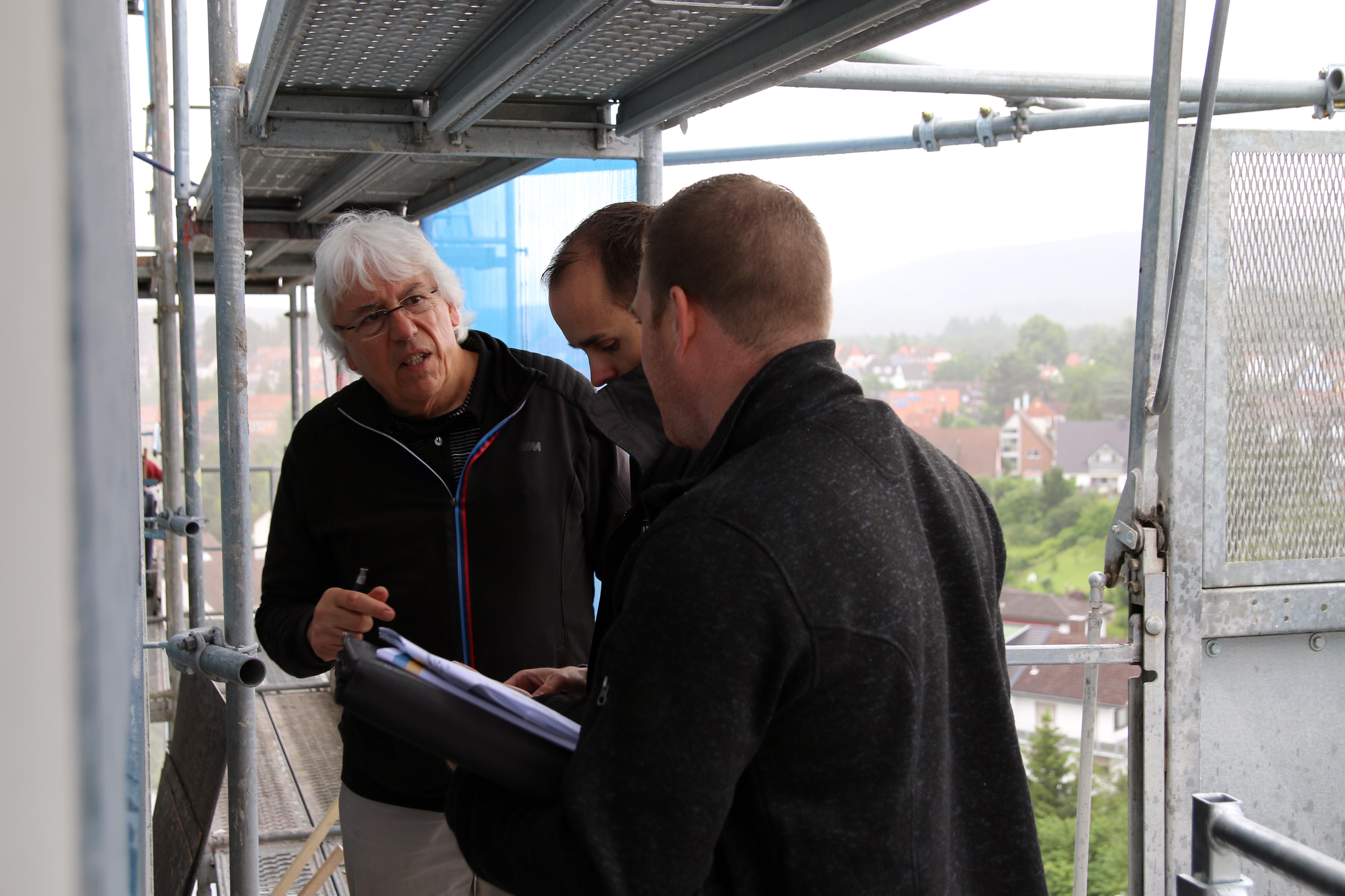 Architekt Kaiserslautern gespür für beton heinrich schmid stahl und betonschützer